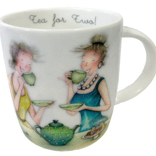 Tea For Two Bone China Cup