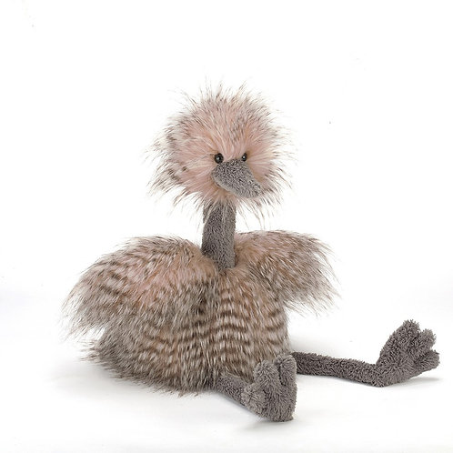 Fluffy Ostrich by Jellycat