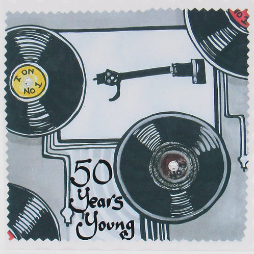50 Years Young Card