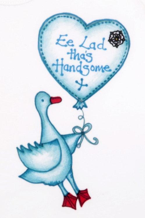 Ee Lad Tha's Handsome Baby organicT-shirt