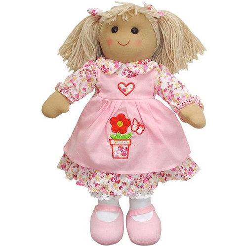 Flower Pot Dress Rag Doll