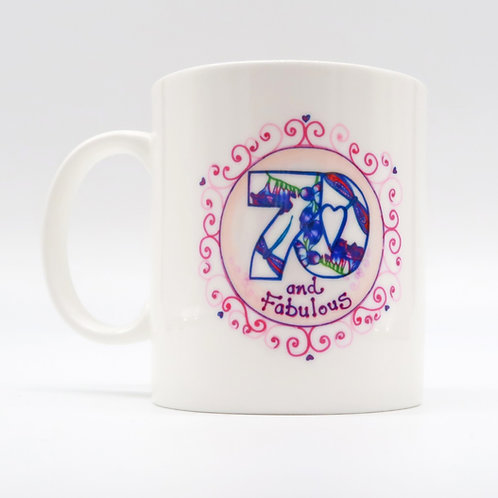 70 and Fabulous  Cup