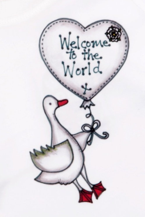 Welcome to the World Baby Organic T-shirt