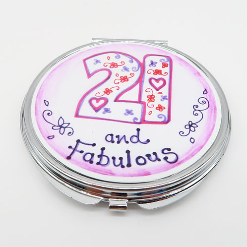 21 and Fabulous Compact Mirror