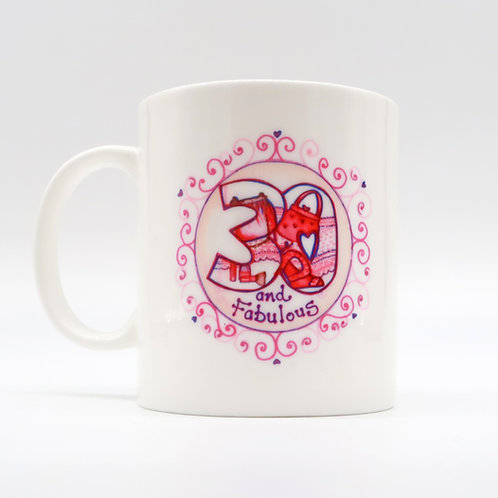 30 and Fabulous Cup