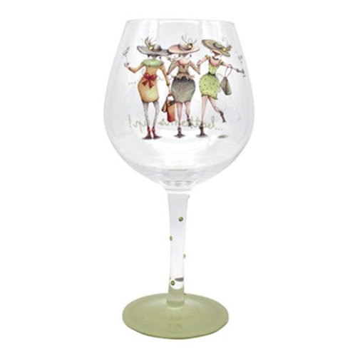 Its Gin O'Clock Gin Glass