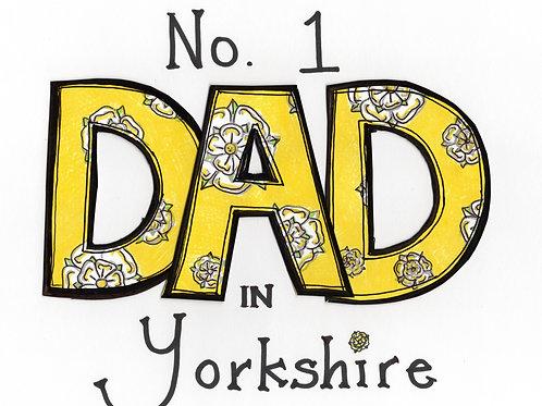 No. 1 Dad in Yorkshire