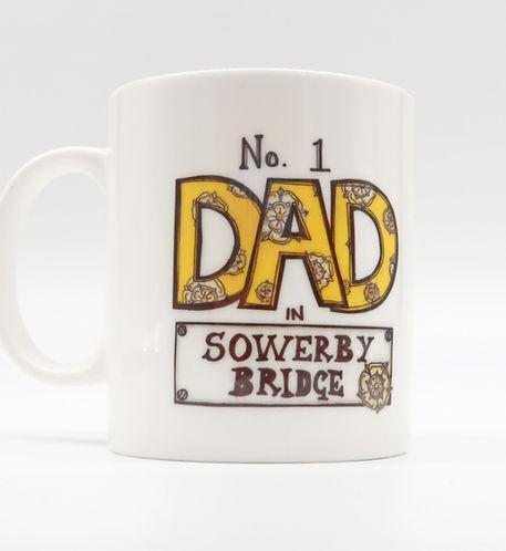 No 1 dad in Sowerby Bridge cup at trinke