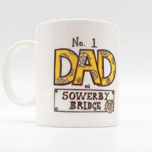 No1 Dad in Sowerby Bridge Cup