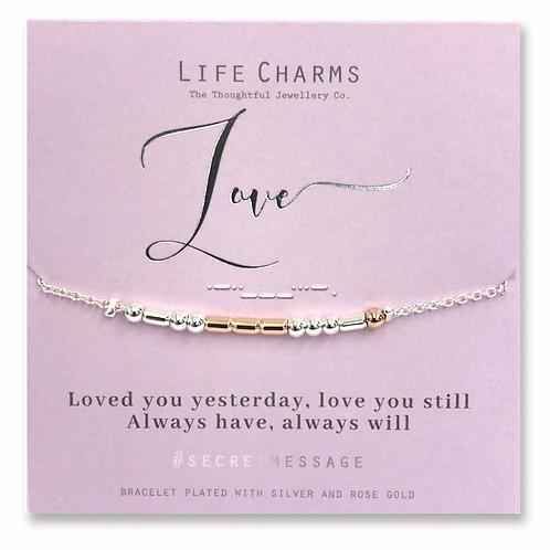 Secret Love Message Bracelet