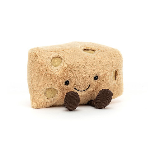 Jellycat Swiss Cheese Amuseable