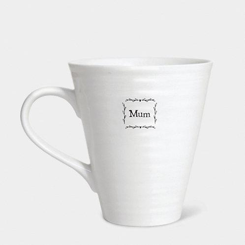 Porcelain Mum Cup