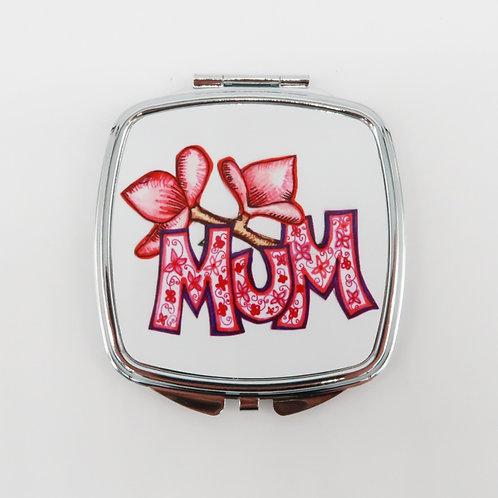 Mum Compact Mirror