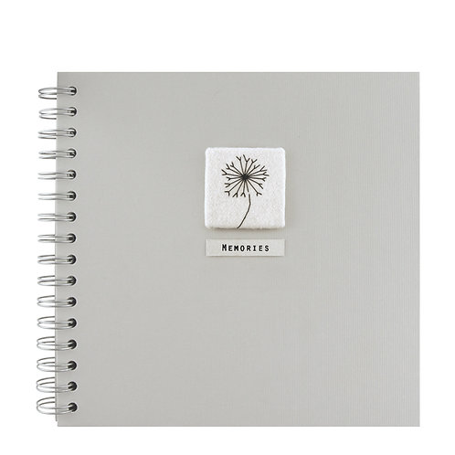 Memory Book with Flower Design