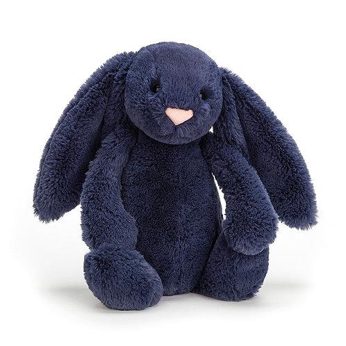 Navy Bashful Bunny