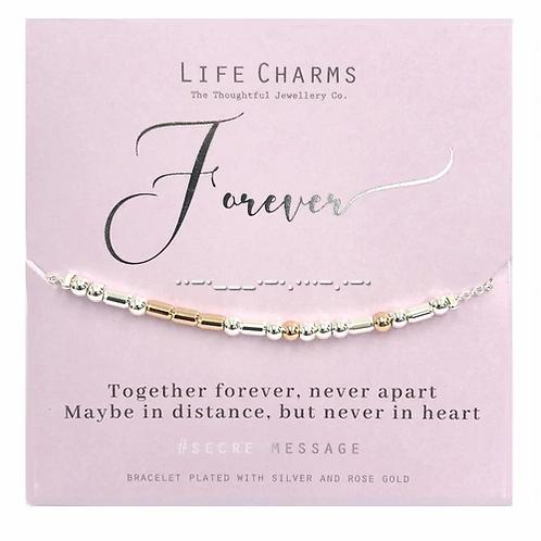 ForeverSecret Message Bracelet