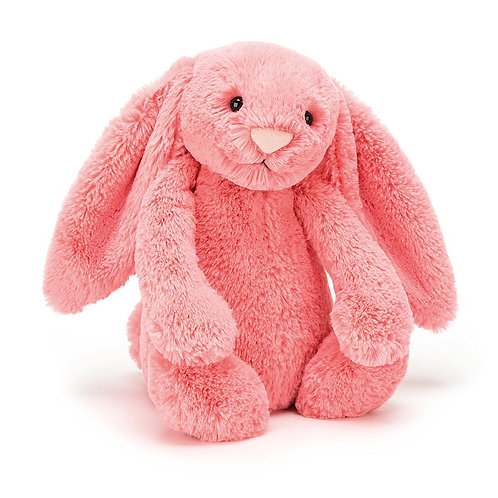 Jellycat Medium Bashful Bunny in Coral