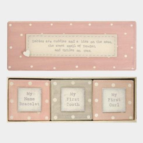 Baby triple box giftset