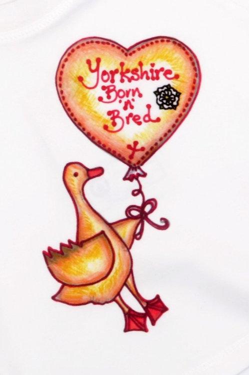 Yorkshire Born 'n' Bred Baby Organic T-shirt