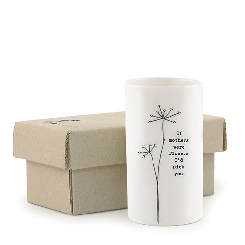 Small Porcelain Mothers Vase