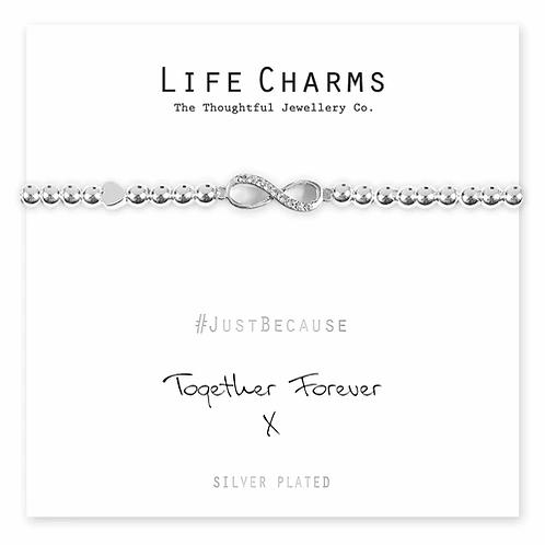 Together Forever Infinity Bracelet