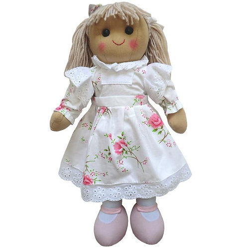 Rose Petal Rag Doll