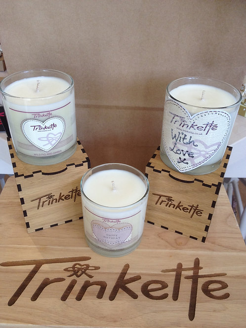Boxed Soy Wax candle