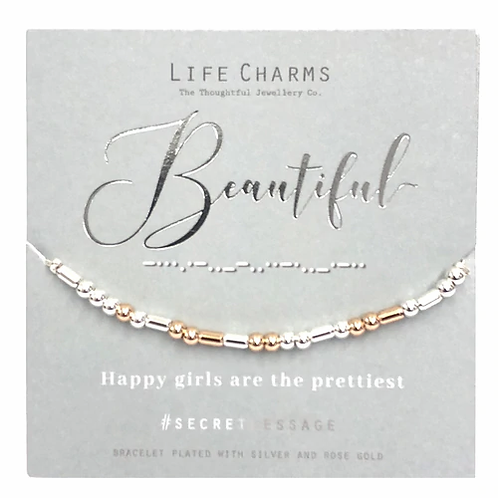 Secret Beautiful Message Bracelet