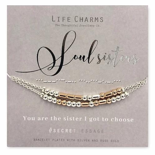 Soul Sisters Beaded Bracelet