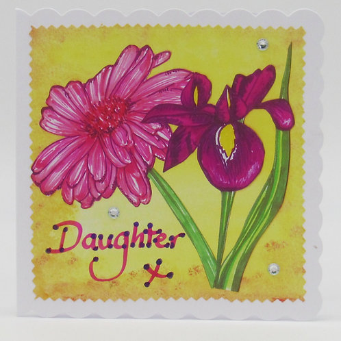 Personalised Daughter Card