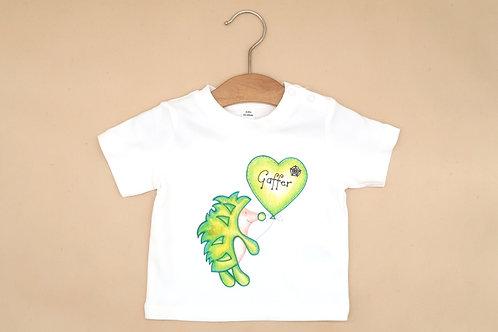 Organic Tshirt Hedgehog Gaffer design