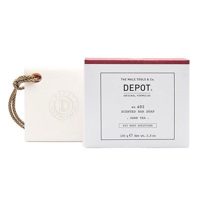Depot 602. SCENTED BAR SOAP_DARK TEA 100gr