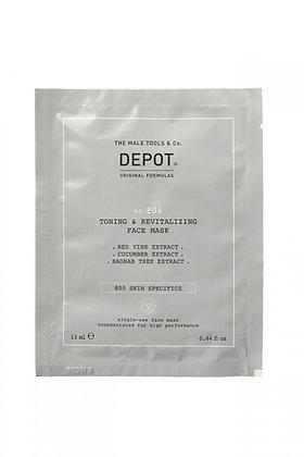 Depot 806. TONING & REVITALING FACE MASK 13ml