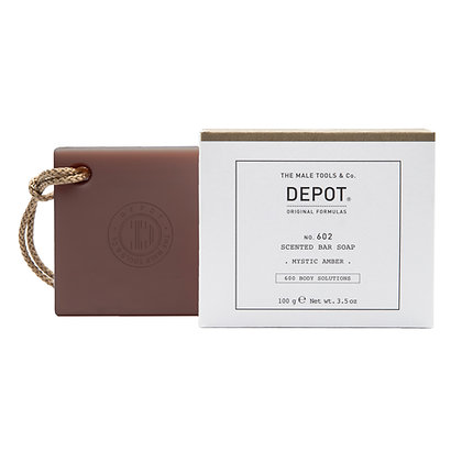 Depot 602. SCENTED BAR SOAP_MYSTIC AMBER 100gr