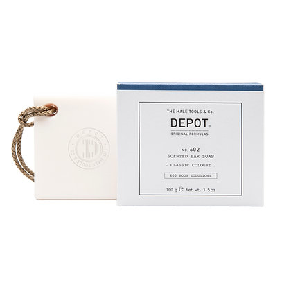 Depot 602. SCENTED BAR SOAP_CLASSIC COLOGNE 100gr