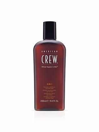American Crew Hair & Body 3-IN-1 250ml