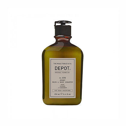 Depot 606. SPORT HAIR & BODY SHAMPOO 250ml