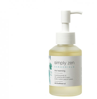 simply zen_soul warming body oil 100ml
