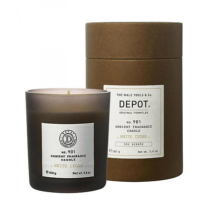 Depot 901.AMBIENT FRAGRANCE CANDLE_WHITE CEDAR 160g