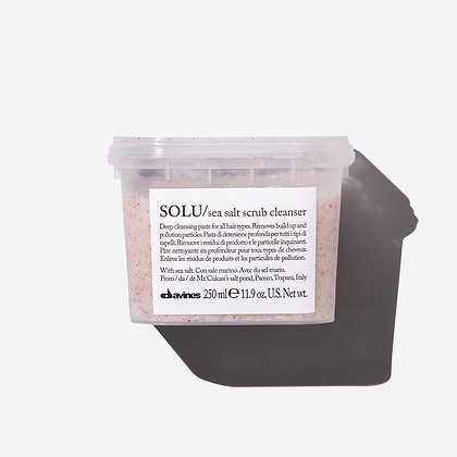 Davines_SOLU/sea salt scrub cleanser 250ml