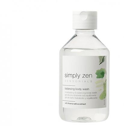 simply zen_balancing body wash 250ml
