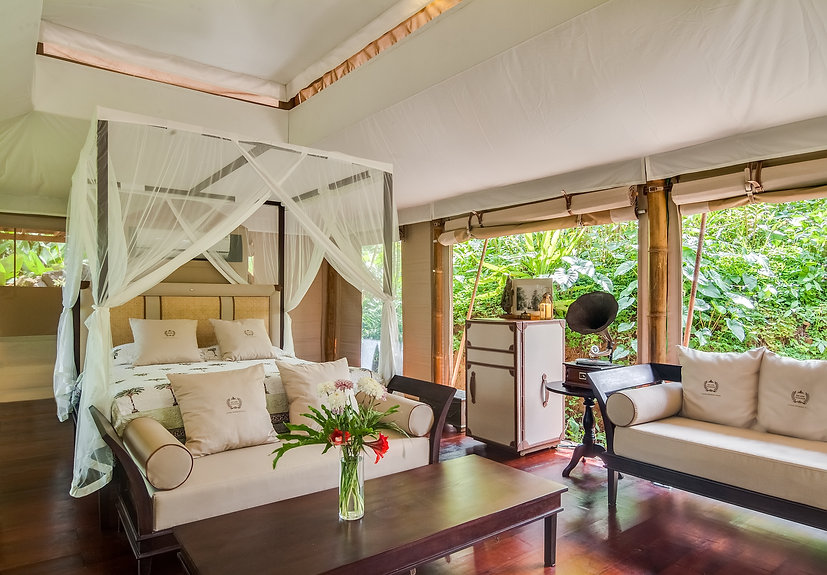 Luxury tents tented villas glamping