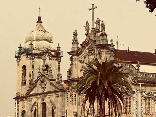 Eyeing Porto with my camera