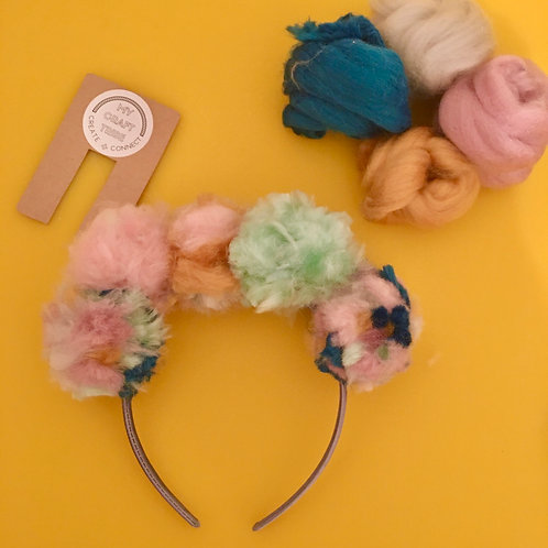 Party (5) Pom Pom Headband Kits