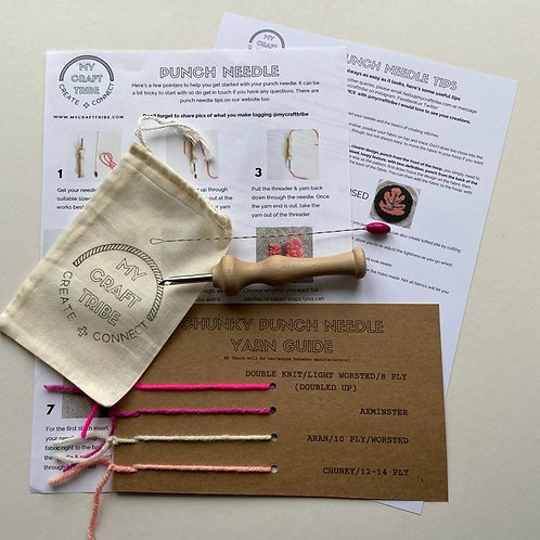 British Made Luxury Wooden Punch Needle