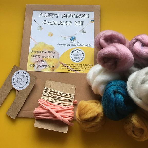 pompom garland craft kit.JPG
