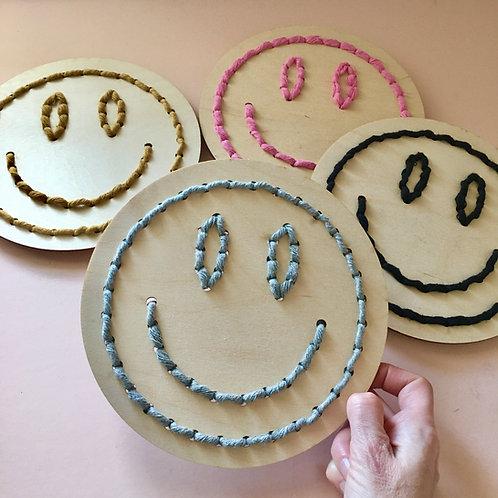 Smiley Face Stitch Kit