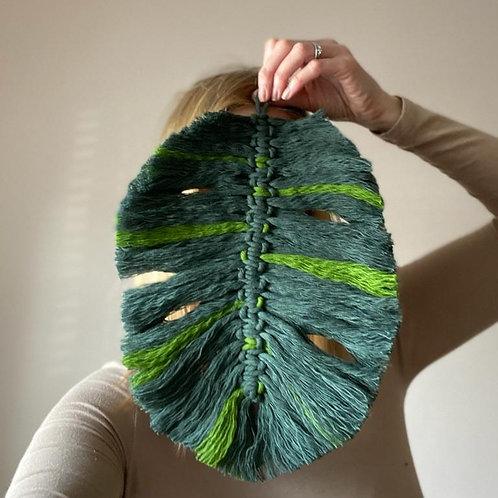 Macrame Monstera Leaf Kit