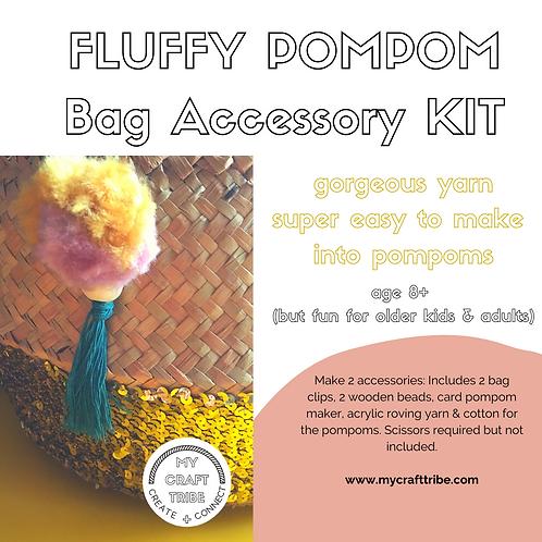 Party (5) Pom Pom Bag Accessory Kits
