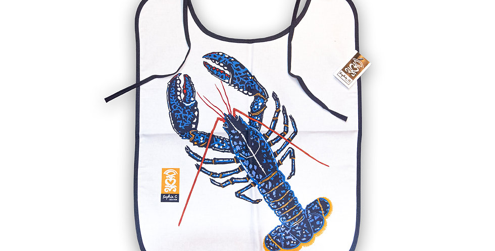 Bavoir homard plateaux de fruits de mer